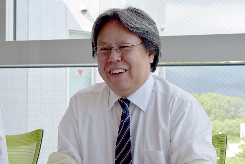 代表取締役社長兼COO 三津原敏氏