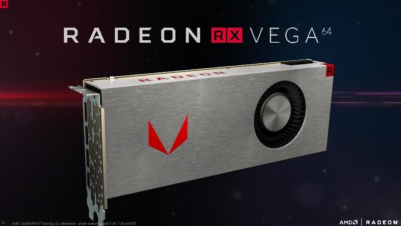 Radeon RX Vega64として製品化されるVega10