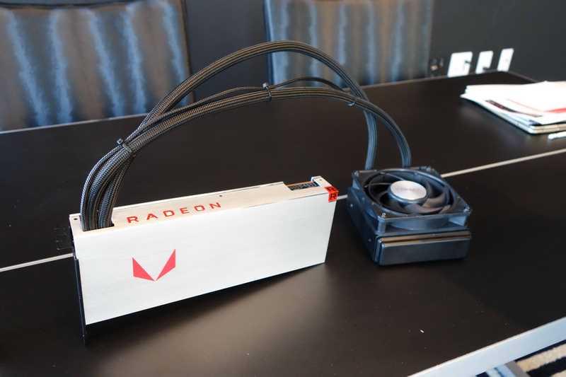 液冷版のRadeon RX Vega64