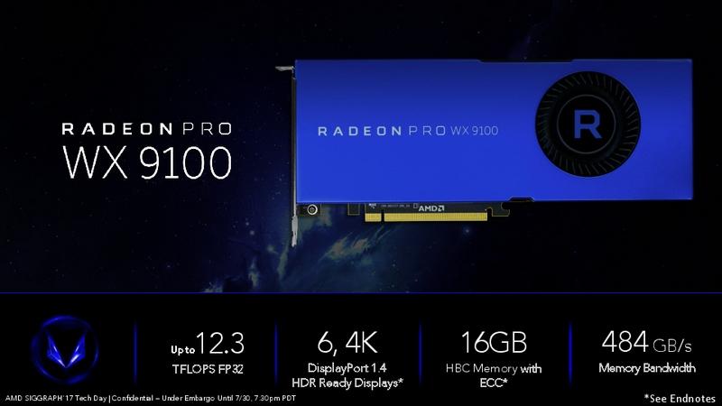 Radeon Pro WX9100