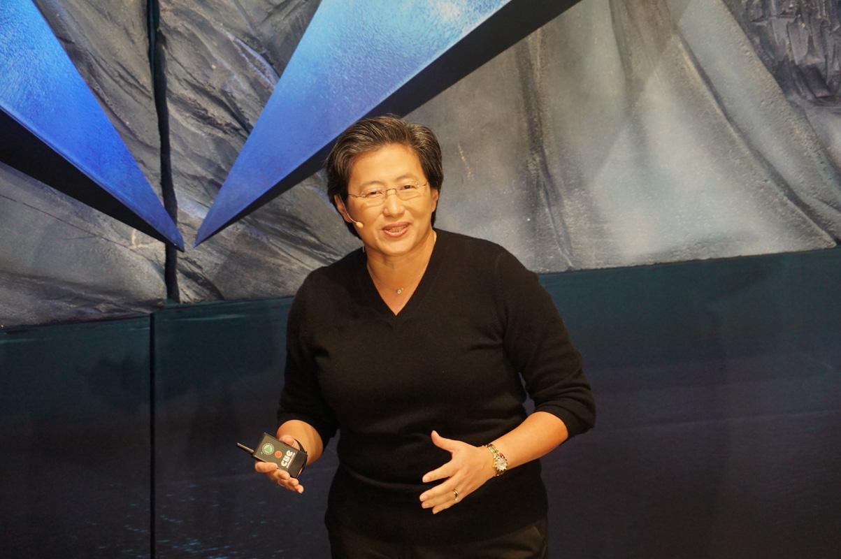 AMD 社長兼CEO リサ・スー氏