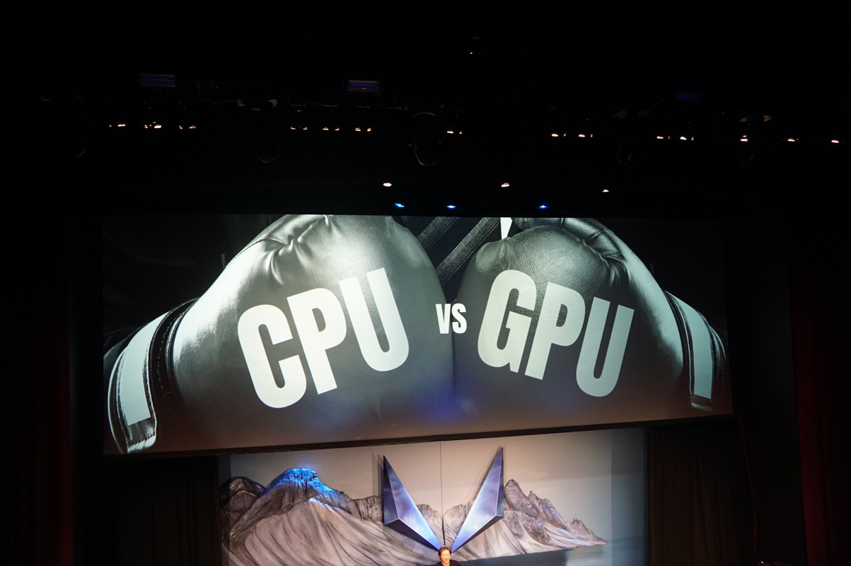 CPUとGPUは敵か?
