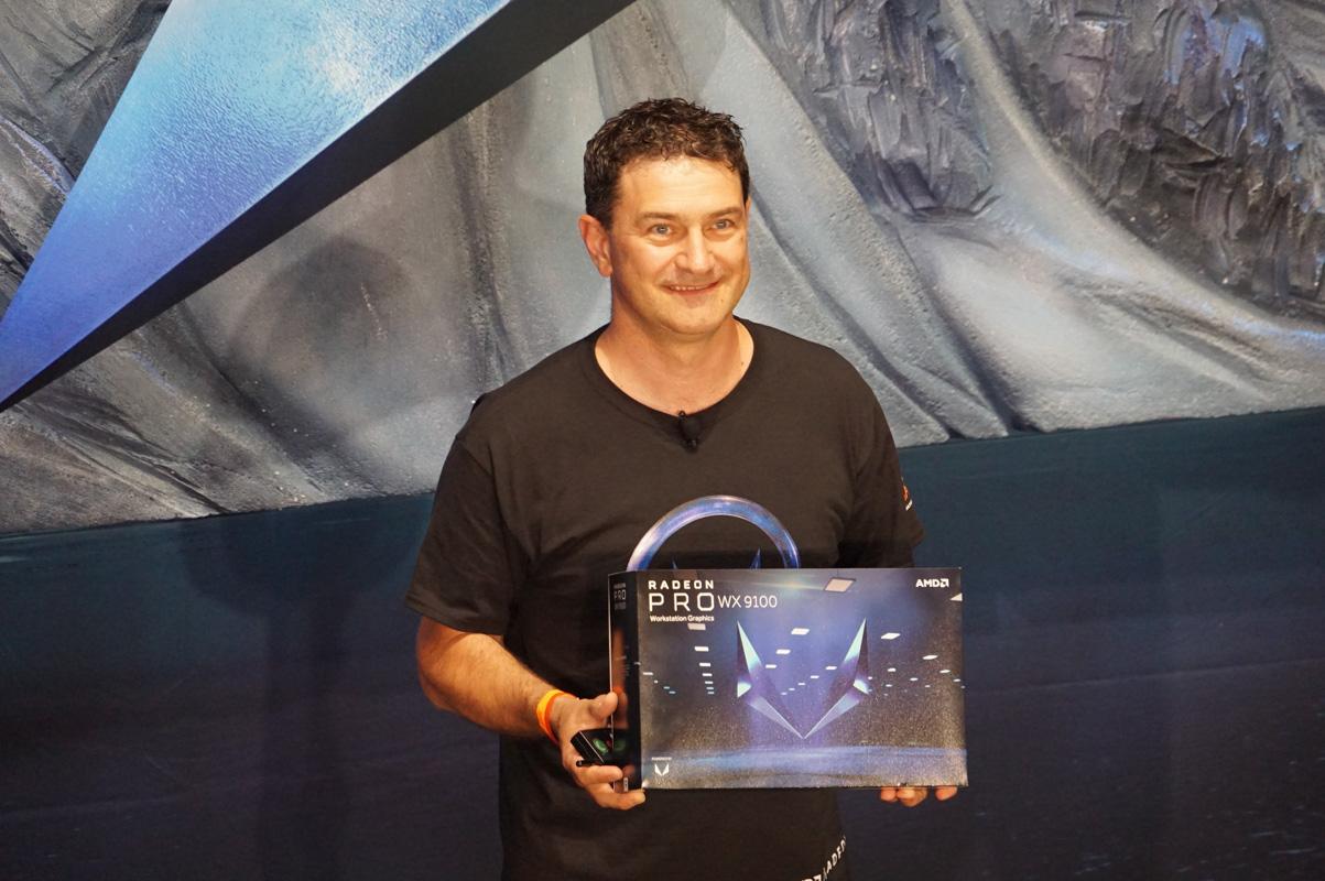 AMD Radeon Pro グラフィックス事業部長 オギ・ブルキッチ氏