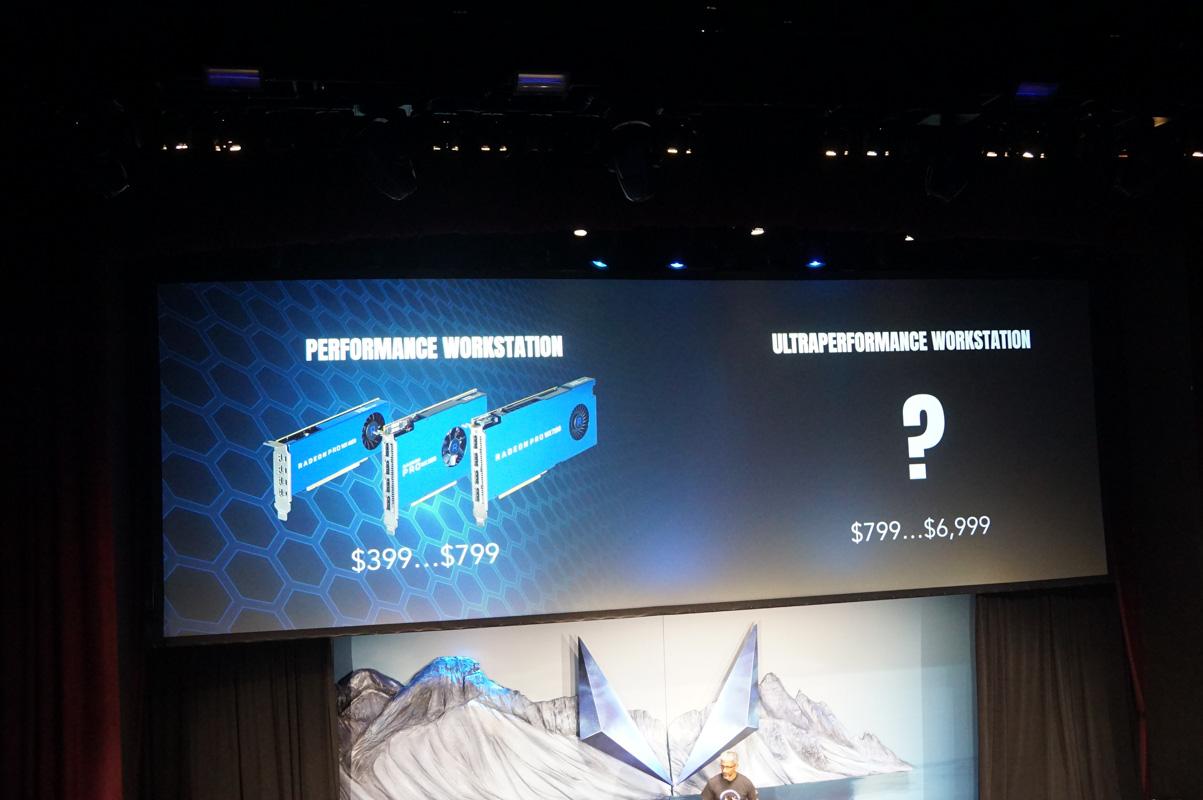 昨年AMDが発表したRadeon Pro WX