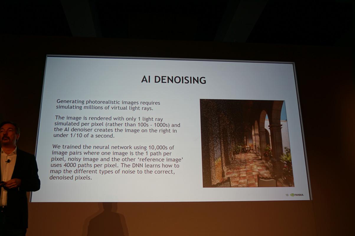 AIによるノイズ低減の説明