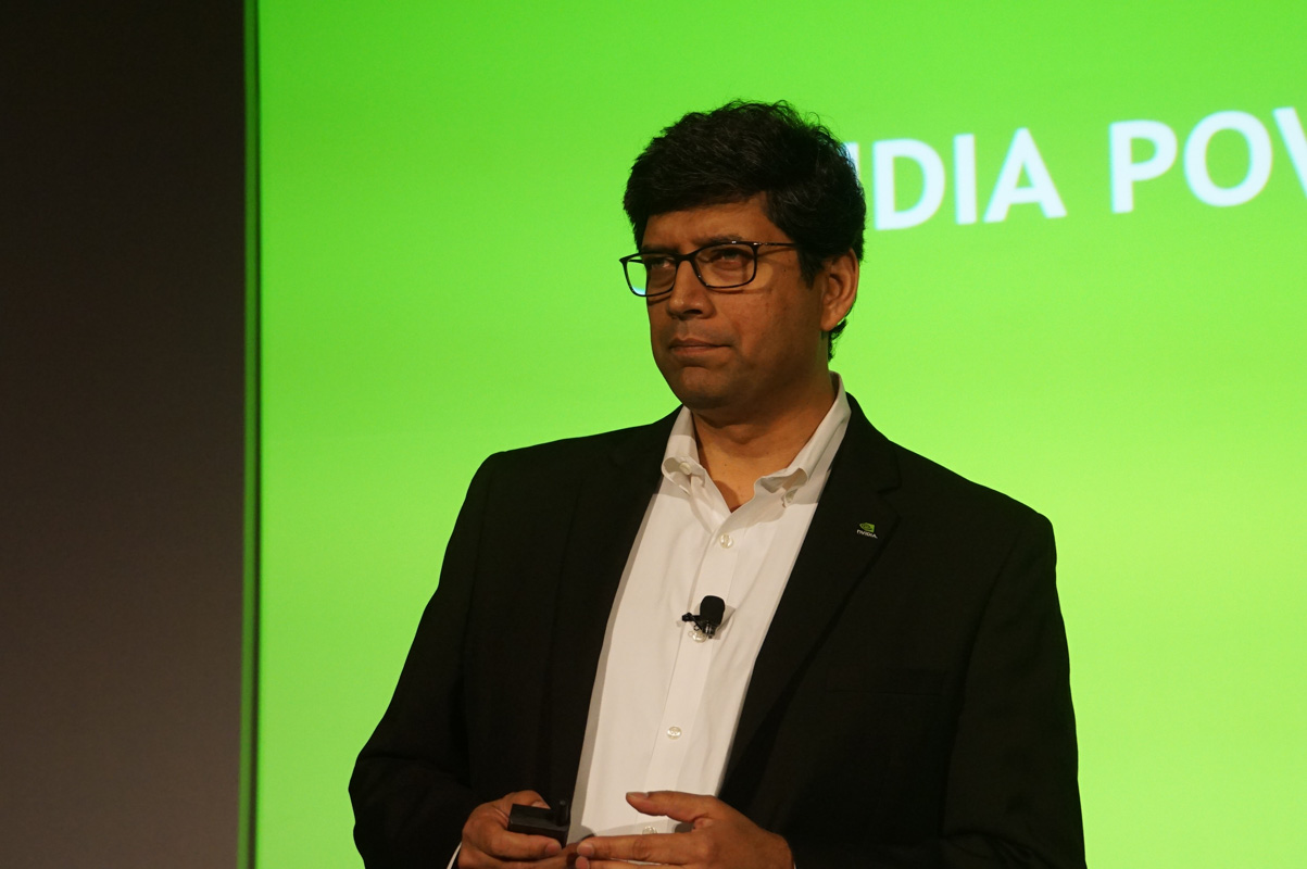 NVIDIA プロフェッショナル・ソリューション・ビジネス プロダクトマーケティング シニアディレクター サンディープ・グプテ氏