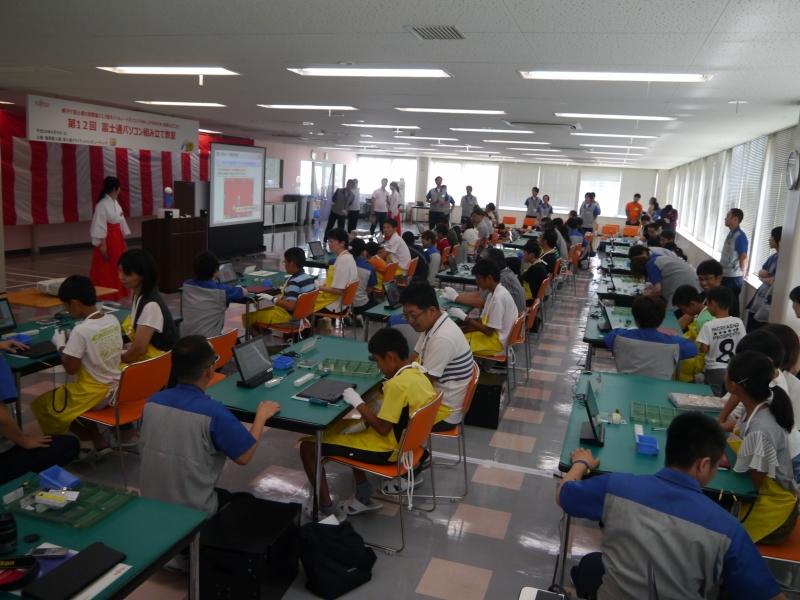 組み立て教室の様子