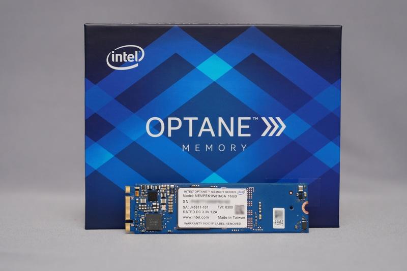 Intel Optaneメモリー
