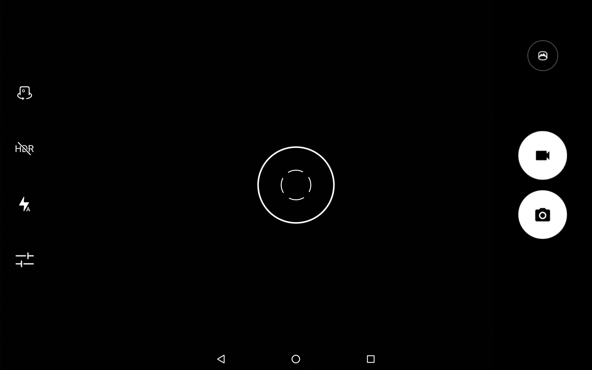 カメラ/撮影画面