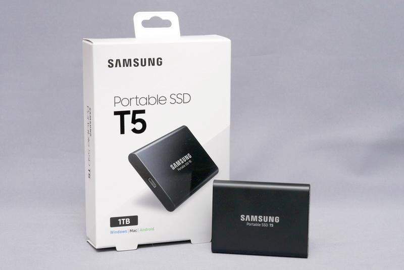 日本サムスン「Samsung Portable SSD T5」