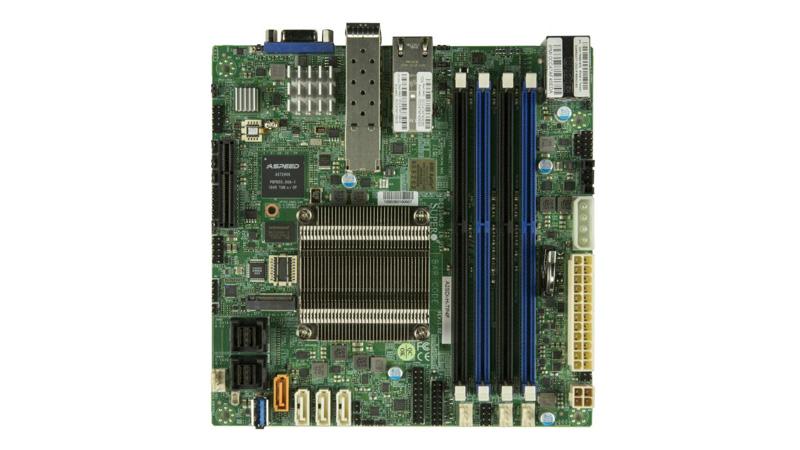 SupermicroのAtom C3958搭載Mini-ITXマザー「A2SDi-H-TP4F」