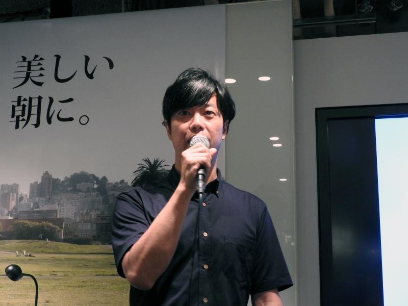 PLEN Robotics株式会社代表取締役CEOの赤澤夏郎氏