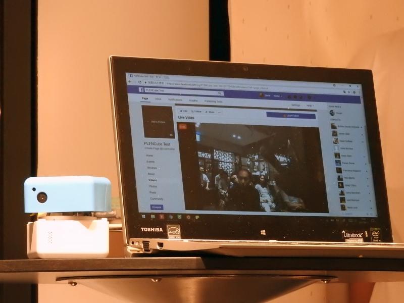 Facebookにライブビデオを公開することもできる