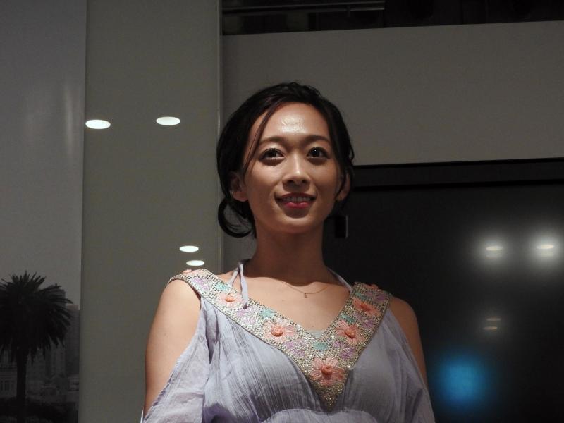スペシャルゲストとして工学部出身でリケジョとしても有名なモデルの「梨衣名」さんが登場