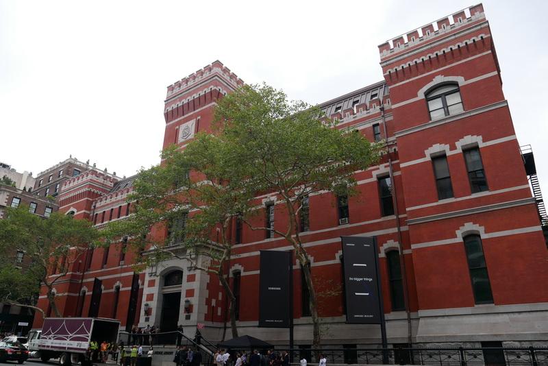 Galaxy Unpacked 2017が開催された、ニューヨークの劇場「Park Avenue Armory」