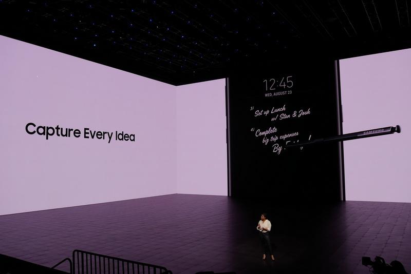 Screen off Memoで書いた内容を、Always On Displayに貼りつけることも可能