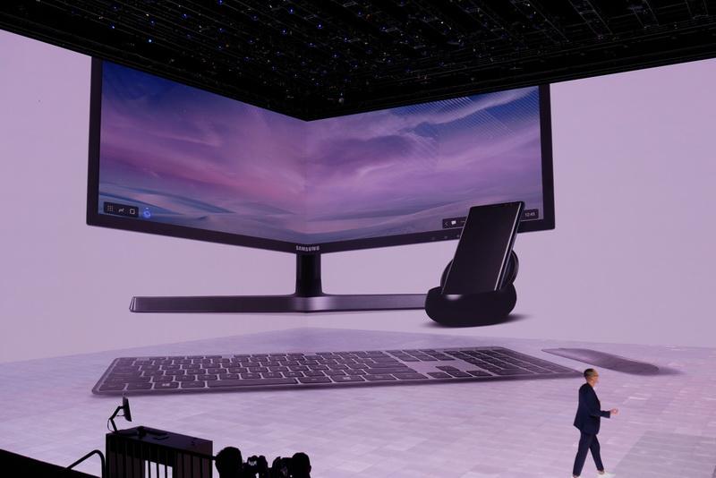 デスクトップPC相当として活用できる「Samsung DeX」にも対応