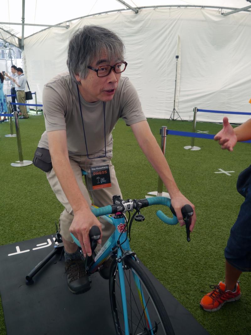 本誌ライターでお馴染みの山田祥平氏も「Zwift」に挑戦