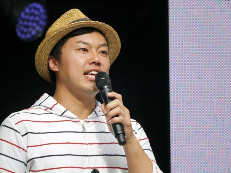 Dell Champion Awardを受賞した栗田紘氏