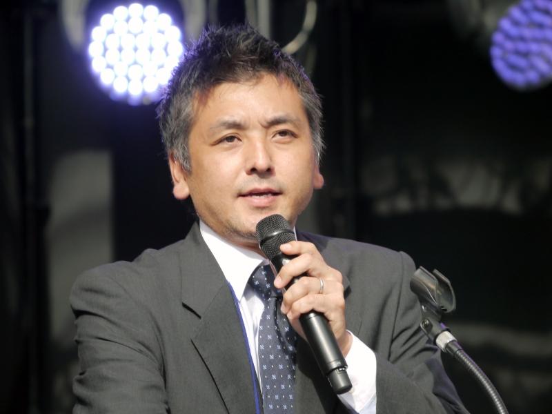 クリエイティブ・ラボ・フクオカ特別賞を受賞した仲里一義氏