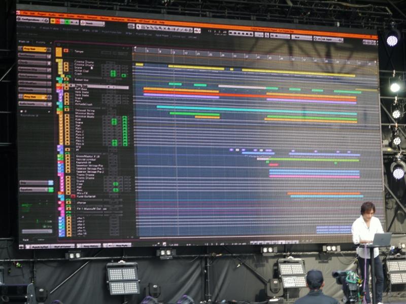 実際にXPSで制作した音楽をテモストレーション