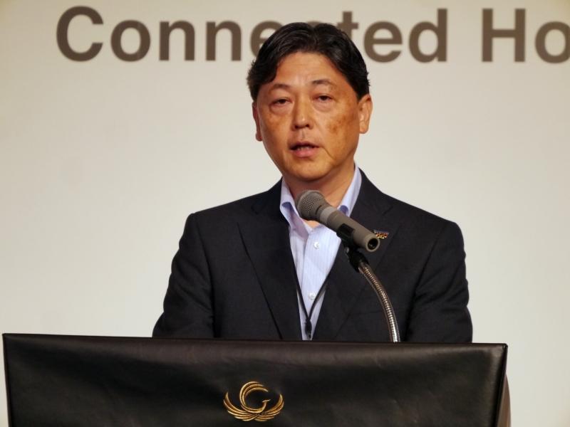パナソニック システムソリューションズ ジャパンの奥村康彦取締役専務執行役員