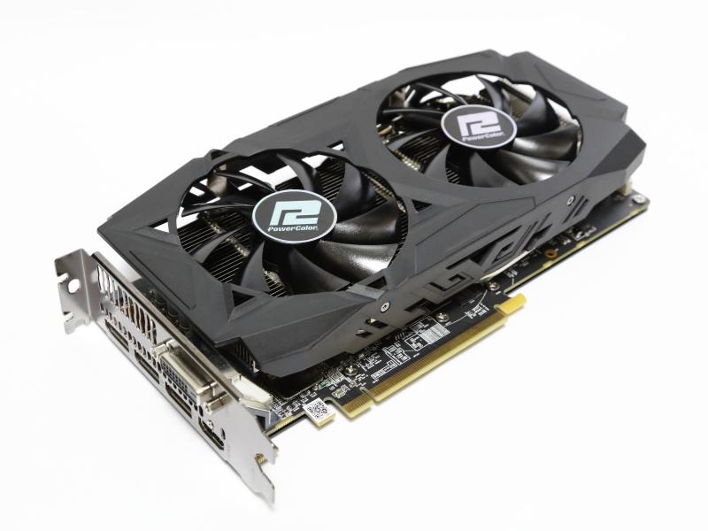 Radeon RX 580搭載の「PowerColor AXRX 580 8GBD5-3DHDV2/OC」
