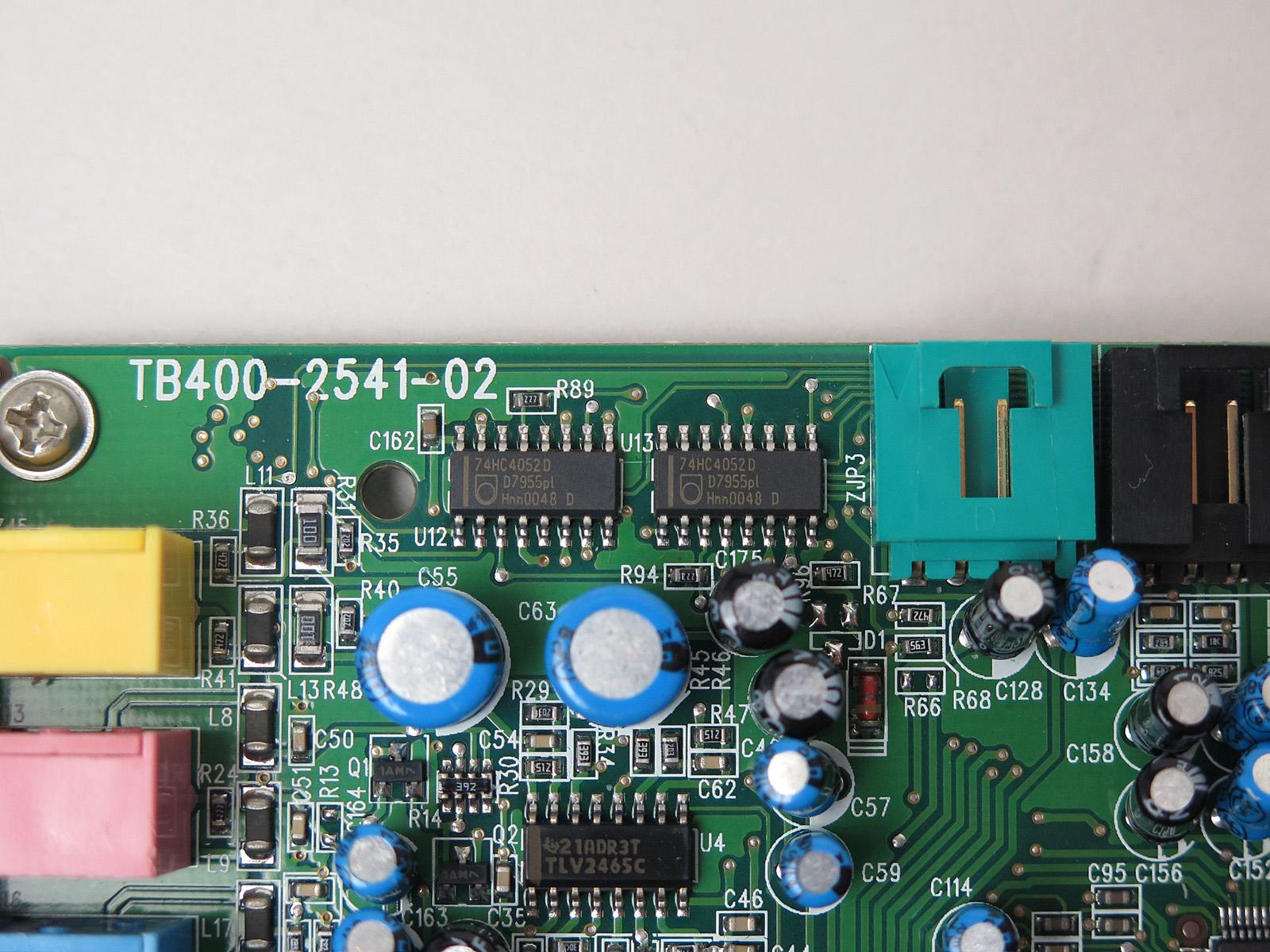 Philipsの「74HC4052D」はマルチプレクサ/マルチデプレクサ