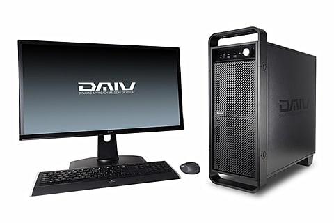 マウス、Core i7-8700K/1080 Ti搭載のクリエイター向けPC DAIV-DGZ520H1-M2SH5