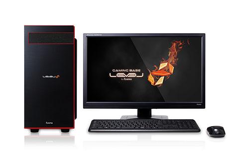 ユニットコム、Core i7-8700K搭載のデスクトップPC 2製品 LEVEL-R037-i7K-XNVI