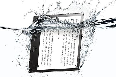 防水になった7型電子書籍リーダー、新「Kindle Oasis」 Kindle Oasis