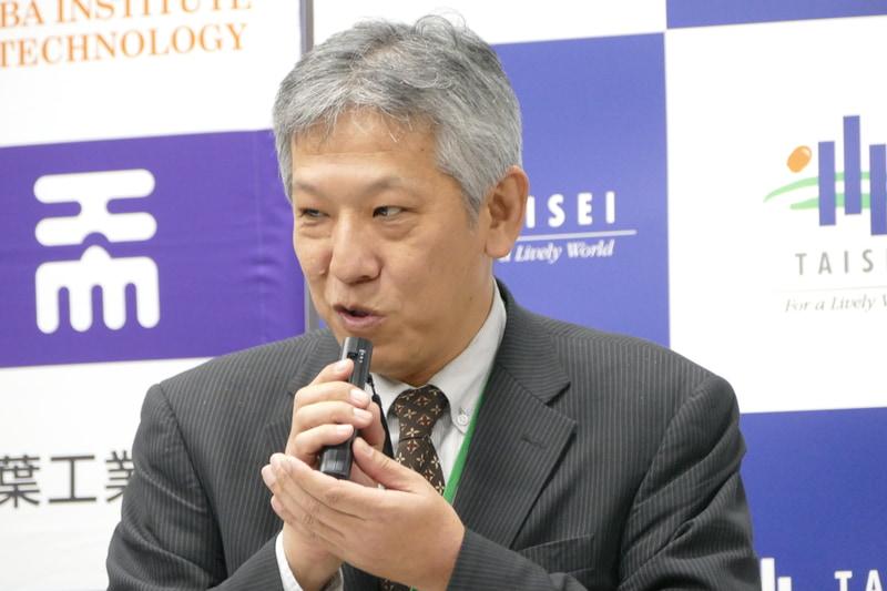 大成建設株式会社 本社・技術センター 先進技術開発部・部長 上野純氏