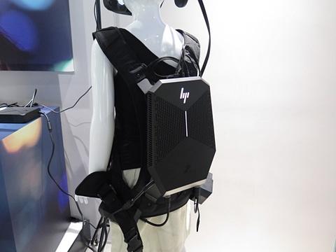 日本HP、VR開発向けのバックパック型ワークステーション HP Z VR Backpack G1 Workstation