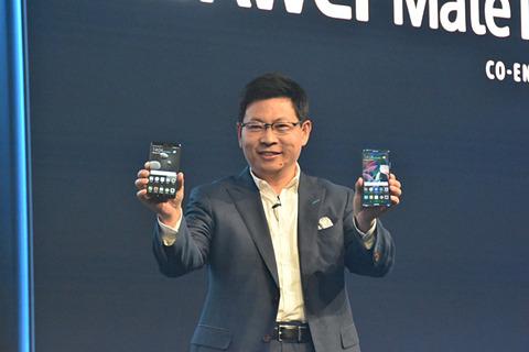 Kirin 970によるAIが切り開く新たなスマホの可能性 Mate 10とMate 10 Proを披露するリチャード・ユー氏