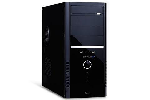 ユニットコム、第8世代Coreプロセッサ採用のミドルタワーPC STYLE-R037-i7K-UHS
