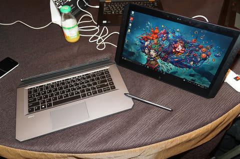 HP、ワコムペン対応14型4K液タブ「HP ZBook x2 G4」をAdobe MAXで展示 HPの2in1ワークステーション「HP ZBook x2 G4」