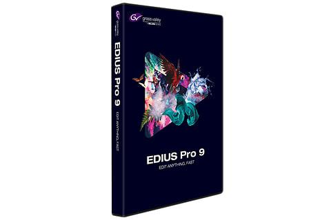 グラスバレー、4K HDRに対応したノンリニアビデオ編集ソフト「EDIUS 9」 EDIUS 9