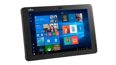 富士通、文教/法人向けの防塵/防水対応10.1型Windowsタブレット ARROW S Tab Q508