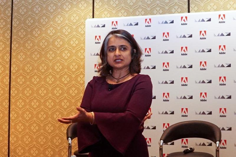 Adobe Systems 副社長 兼 Creative Cloud 事業本部長 マーラ・シャルマ氏