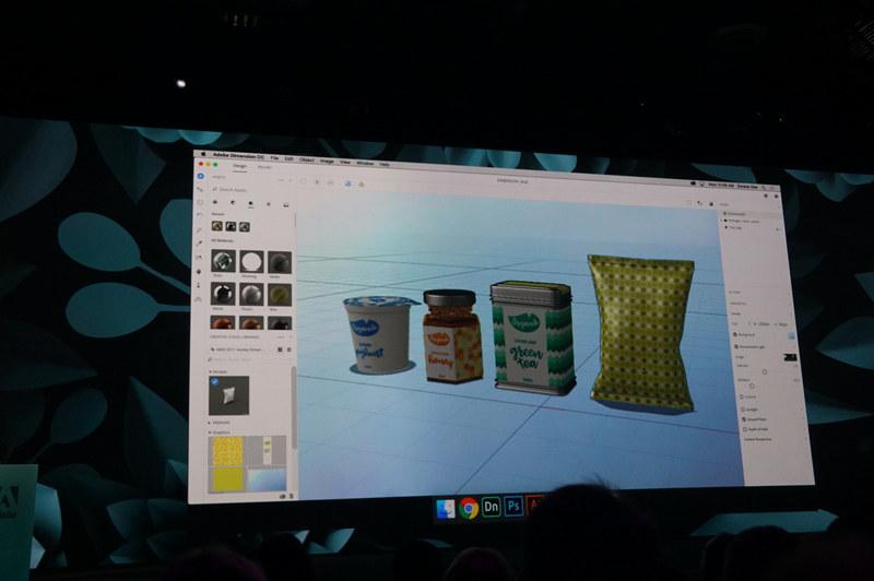 昨年Project Felixとして公開された3Dコンテンツ版PhotoshopとなるDimension