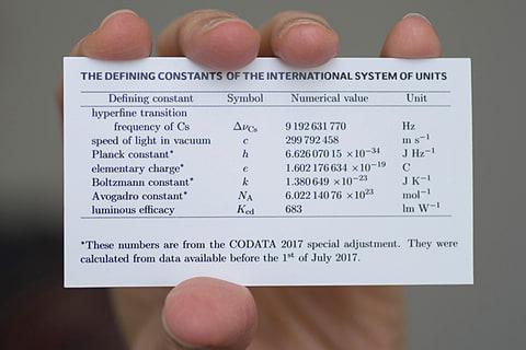 質量・温度・電流など4つの自然界の基本定数が更新される 画像出典: Stoughton/NIST