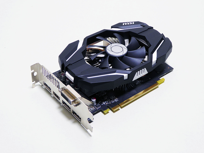 MSIのGeForce GTX 1060 6GB OCビデオカードを搭載していた。LEVEL-C0B3-R7-RNRのスペック表に記載はなかったがOCモデル