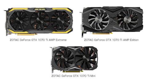 コア数が増えた「GeForce GTX 1070 Ti」が11月2日に発売