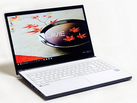 NEC PC「LAVIE Note NEXT(NX850/JA)」 「LAVIE Note NEXT NX850/JA」