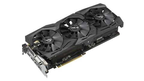 ASUS、新GPU「GeForce GTX 1070 Ti」搭載の3連ファンビデオカード ROG-STRIX-GTX1070TI-A8G-GAMING