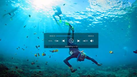 Windows Mixed Realityヘッドセットで360度写真/ビデオ再生可能なソフト