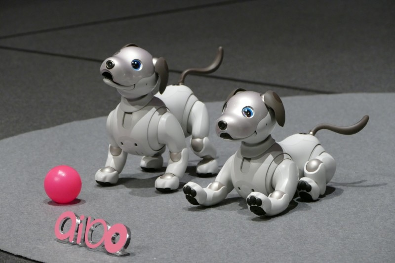 自律型エンタテインメントロボット「aibo」