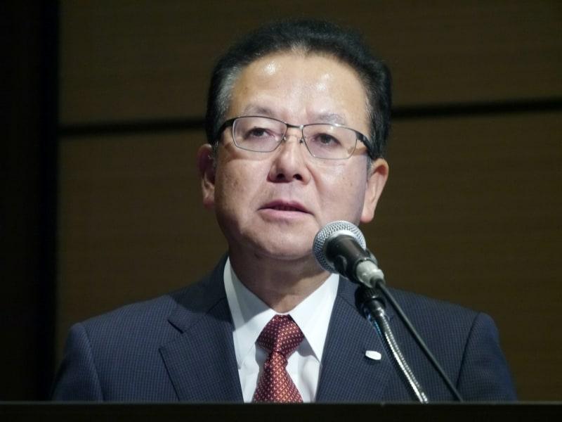 富士通 代表取締役社長の田中達也氏