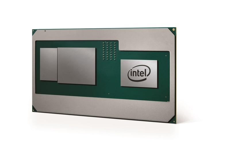 AMD GPUを搭載する第8世代Coreプロセッサ