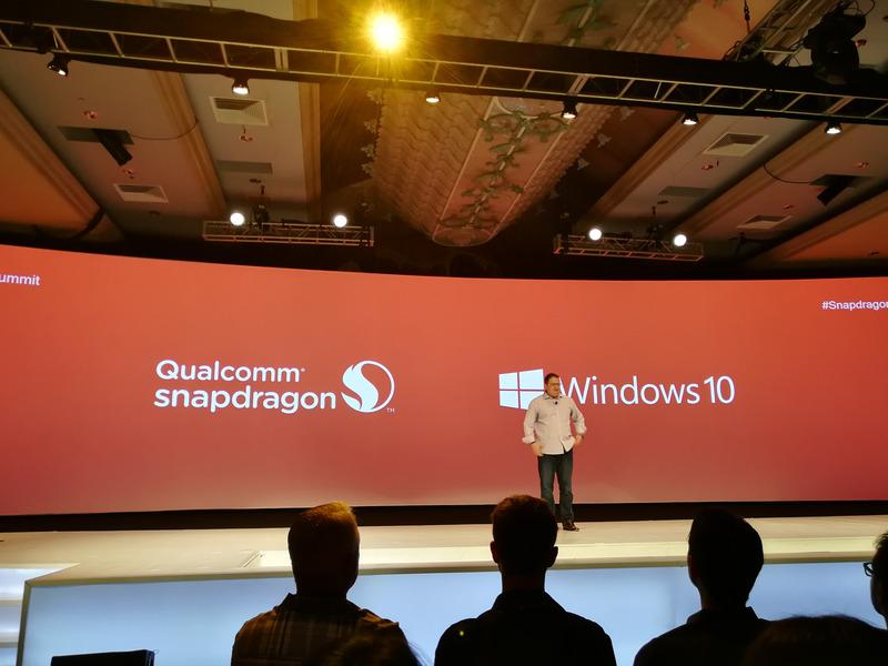 SnapdragonによるArm版Windows 10が正式発表